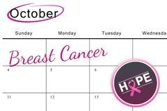 Σύνθετη εικόνα του μηνύματος συνειδητοποίησης καρκίνου του μαστού στην αφίσα Στοκ φωτογραφίες με δικαίωμα ελεύθερης χρήσης