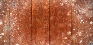 Σύνθετη εικόνα του χιονιού Στοκ Εικόνα