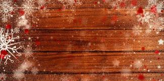 Σύνθετη εικόνα του χιονιού Στοκ φωτογραφίες με δικαίωμα ελεύθερης χρήσης