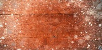 Σύνθετη εικόνα του χιονιού Στοκ Φωτογραφίες