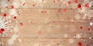 Σύνθετη εικόνα του χιονιού Στοκ εικόνες με δικαίωμα ελεύθερης χρήσης