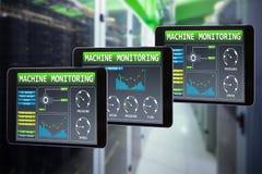 Σύνθετη εικόνα του PC ταμπλετών Στοκ εικόνες με δικαίωμα ελεύθερης χρήσης
