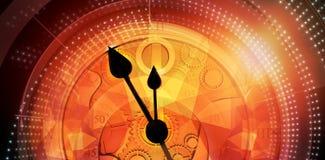 Σύνθετη εικόνα του pocketwatch διανυσματική απεικόνιση