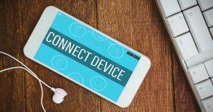 Σύνθετη εικόνα των εικονιδίων smartphone apps Στοκ φωτογραφία με δικαίωμα ελεύθερης χρήσης