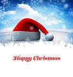 Σύνθετη εικόνα των ευτυχών Χριστουγέννων Στοκ Φωτογραφία