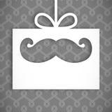 Σύνθετη εικόνα ψηφιακά παραγμένος mustache απεικόνιση αποθεμάτων
