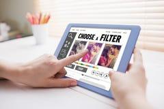 Σύνθετη εικόνα app smartphone των επιλογών Στοκ φωτογραφίες με δικαίωμα ελεύθερης χρήσης
