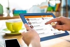 Σύνθετη εικόνα app smartphone των επιλογών Στοκ Εικόνα