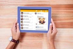 Σύνθετη εικόνα app smartphone των επιλογών Στοκ Εικόνες