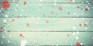 Σύνθετη εικόνα snowflakes Στοκ Εικόνες