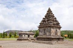 σύνθετος ναός της Ινδονησίας dieng arjuna Στοκ Εικόνες