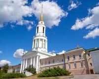 Σύνθετος της εκκλησίας του Άγιου Βασίλη του μοναστηριού Zadonsky Bogoroditsky, Zadonsk στοκ φωτογραφία με δικαίωμα ελεύθερης χρήσης