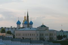 Σύνθετος Annunciation του καθεδρικού ναού Kazan Κρεμλίνο Ταταρία, Ρωσία στοκ εικόνες