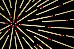 Σύνθετο σχέδιο αστεριών με τις αντιστοιχίες, στενός, που απομονώνονται Στοκ φωτογραφία με δικαίωμα ελεύθερης χρήσης