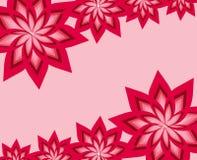 σύνθετο floral πλαίσιο Στοκ Εικόνες