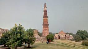 σύνθετο minar qutub Στοκ εικόνα με δικαίωμα ελεύθερης χρήσης