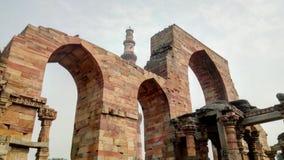 σύνθετο minar qutub Στοκ φωτογραφία με δικαίωμα ελεύθερης χρήσης