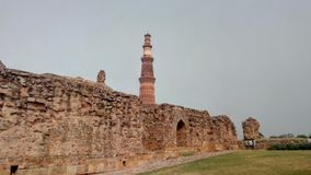 σύνθετο minar qutub Στοκ Φωτογραφία