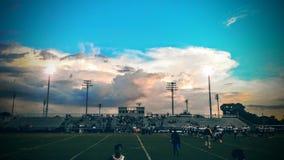 σύννεφα ☠ Στοκ Φωτογραφία