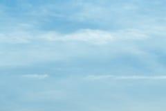 Σύννεφα αέρα στο μπλε ουρανό Στοκ Εικόνες