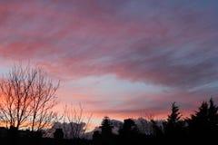 Σύννεφα αίματος στοκ φωτογραφία με δικαίωμα ελεύθερης χρήσης