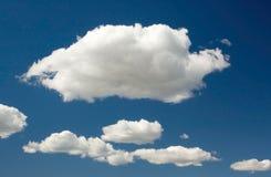 σύννεφα ανασκόπησης Στοκ Φωτογραφίες