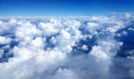 Σύννεφα από ανωτέρω Στοκ φωτογραφία με δικαίωμα ελεύθερης χρήσης