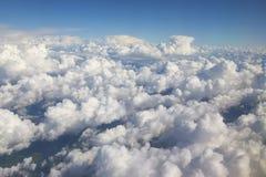 Σύννεφα από ανωτέρω Στοκ εικόνες με δικαίωμα ελεύθερης χρήσης