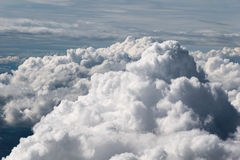 Σύννεφα από ανωτέρω Στοκ Εικόνα