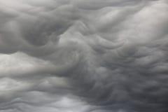 σύννεφα ασυνήθιστα Στοκ Εικόνες