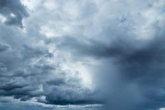 Σύννεφα βροχής ή Nimbus στοκ εικόνα