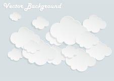 Σύννεφα εγγράφου Στοκ Φωτογραφίες
