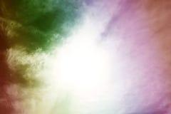 σύννεφα ζωηρόχρωμα Στοκ Εικόνα