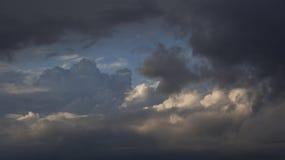 Σύννεφα ηλιοβασιλέματος Στοκ φωτογραφίες με δικαίωμα ελεύθερης χρήσης