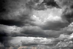 σύννεφα θυελλώδη Στοκ φωτογραφία με δικαίωμα ελεύθερης χρήσης