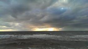 σύννεφα θυελλώδη Στοκ Εικόνες