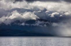 Σύννεφα θύελλας στοκ φωτογραφία