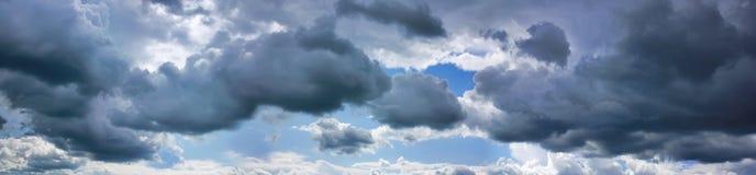 Σύννεφα θύελλας Στοκ Φωτογραφίες