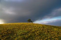 Σύννεφα θύελλας στην επαρχία Στοκ Εικόνα