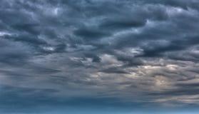 Σύννεφα θύελλας Στοκ Εικόνες