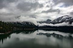 Σύννεφα λιμνών Baker Στοκ Εικόνες