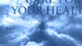 Σύννεφα και λέξεις 12 - ΒΡΟΧΟΣ απόθεμα βίντεο