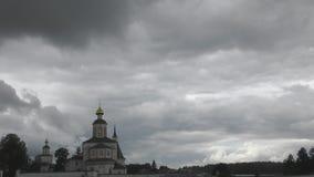 Σύννεφα και βροχή απόθεμα βίντεο