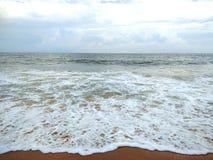 Σύννεφα και θάλασσα στοκ εικόνες