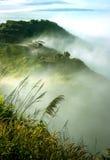 Σύννεφα και ομίχλες στο βουνό στοκ φωτογραφία με δικαίωμα ελεύθερης χρήσης