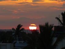Σύννεφα και ουρανοί ηλιοβασιλέματος στοκ εικόνα