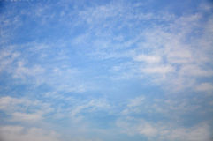 Σύννεφα και ουρανός Στοκ εικόνες με δικαίωμα ελεύθερης χρήσης