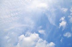 Σύννεφα και ουρανός Στοκ φωτογραφίες με δικαίωμα ελεύθερης χρήσης