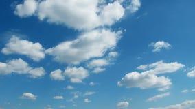 Σύννεφα και χρονικό σφάλμα ουρανού απόθεμα βίντεο