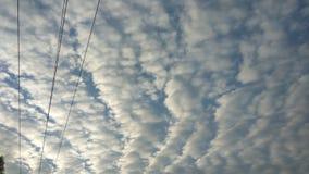 σύννεφα καλά στοκ εικόνα